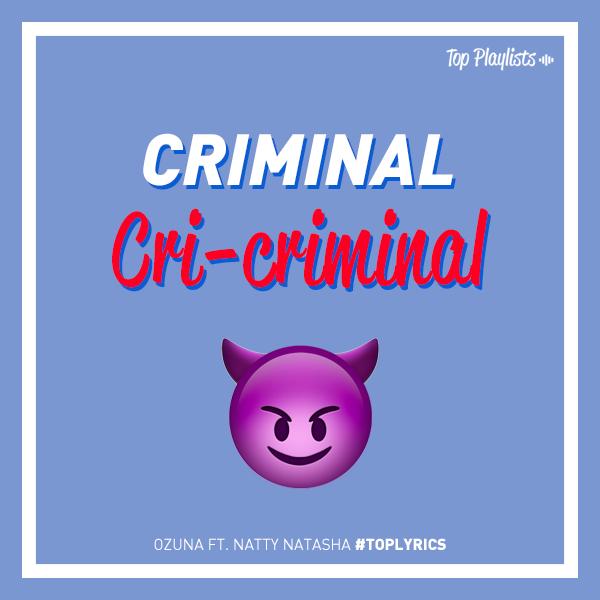 Tu estilo, tu flow, baby muy criminal