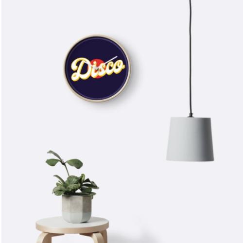 reloj disco
