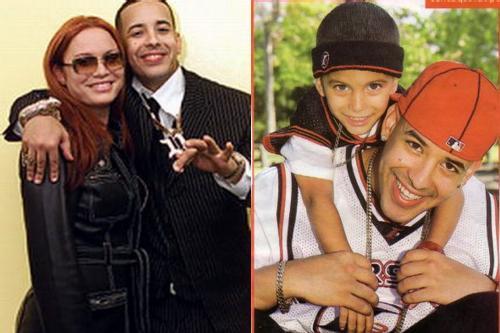Daddy Yankee esposa y su hijo