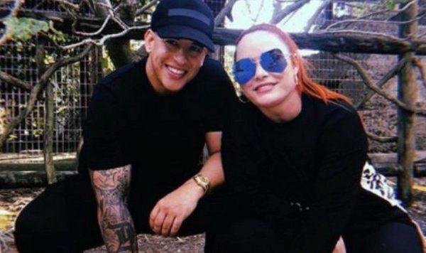 Daddy Yankee y su esposa