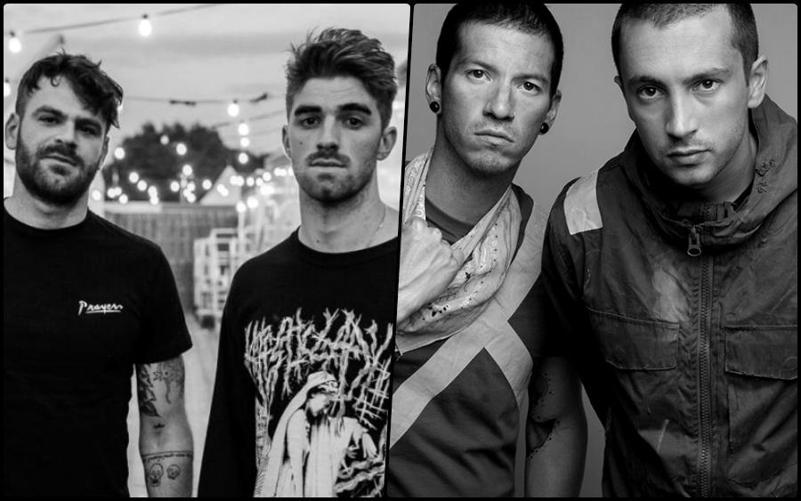 Los fans de Twenty One Pilots acusan de plagio a The Chainsmokers