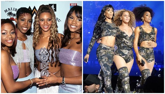 Beyonce con Destiny's Child