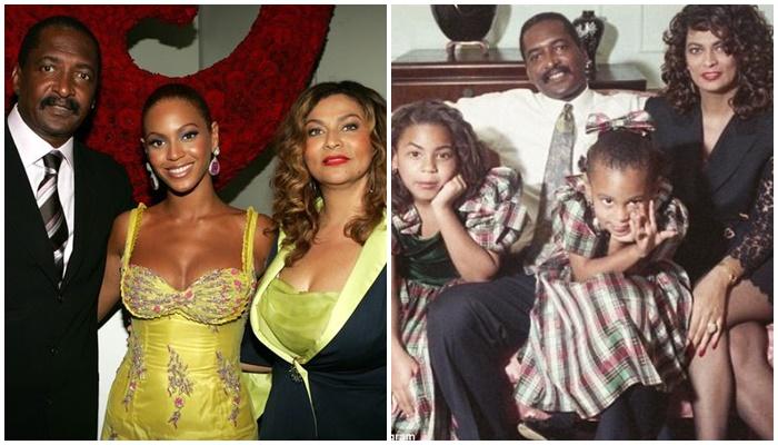 Beyonce con su familia