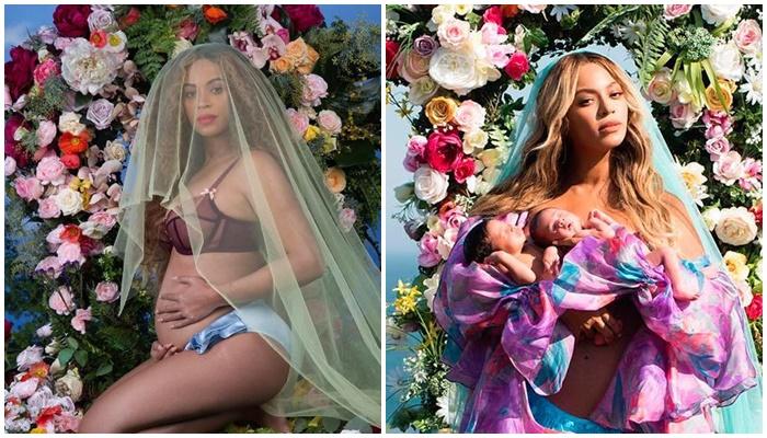 Beyonce embarazada de gemelos