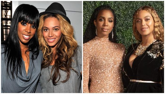Beyonce y Kelly Rowland