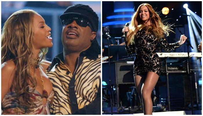Beyonce y Steve Wonder