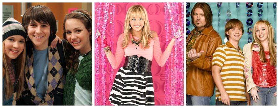 Miley en Hannah Montana