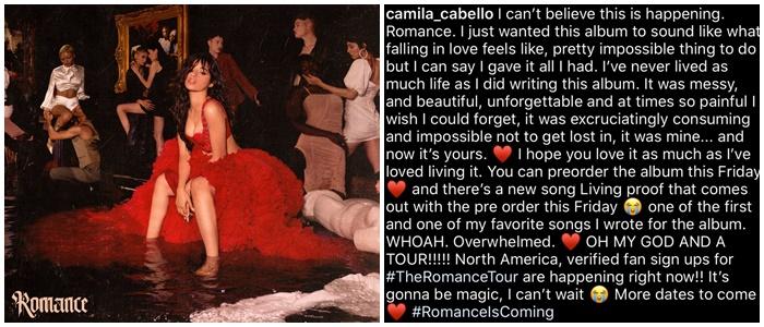 Camila Cabello anuncia su segundo album