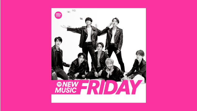 Spotify new music friday rebrand